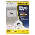c-line-magnetic-name-badge-holder-kit-horizontal-4w-x-3h-20-bx-cli92943