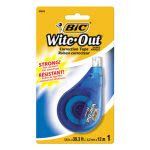 Bic Wite-Out EZ Correct Correction Tape, Non-Refillable (BICWOTAPP11)