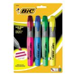 bic-brite-grip-xl-highlighter-chisel-tip-fluorescent-4set-bicblmgp41asst