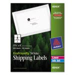 "Avery 48464 EcoFriendly White Shipping Label, 3-1/3"" x 4"", 600 Labels (AVE48464)"