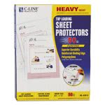 c-line-heavyweight-polypropylene-sheet-protector-clear-11-x-8-12-50bx-cli62013