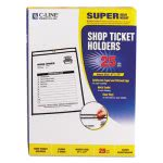 c-line-shop-ticket-holders-stitched-both-sides-clear-9-x-12-25bx-cli46912