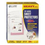 c-line-polypropylene-sheet-protector-clear-11-x-8-12-200box-cli62097