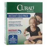 Curad Instant Cold Pack, 2/Box (MIICUR961R)