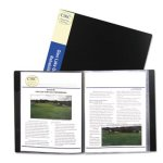 c-line-bound-sheet-protector-presentation-book-12-sleeves-11-x-8-12-black-cli33120