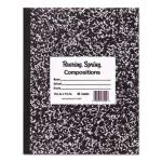 Roaring Spring Marble Cover Composition Book, Wide Rule, 60 Pages (ROA77505)