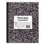 Roaring Spring Marble Cover Composition Book, Wide Rule, 8-1/2 x 7 (ROA77332)