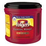 Folgers Ground Coffee, Classic Roast, 30.5-oz. Canister (FOL20421EA)
