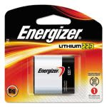 Energizer e2 Lithium Photo Battery, 223, 6Volt (EVEEL223APBP)