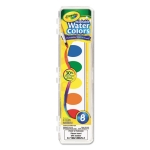 Crayola Washable Watercolor Paint, 8 Assorted Colors (CYO530525)