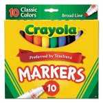 crayola-non-washable-markers-broad-point-classic-colors-10-set-cyo587722