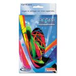 Alliance Brites Pic Pac Rubber Bands, Assorted Colors, 1-1/2-oz. Box (ALL07706)