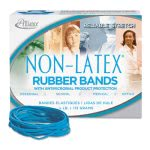 Alliance Latex Free Antimicrobial #33 Blue Rubber Bands, 1/4-lb Box (ALL42339)