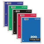 tops-wirebound-5-subject-college-rule-notebook-white-200-sheets-top65581