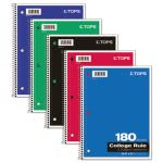tops-wirebound-5-subject-notebook-college-rule-10-12-x-8-white-180-sheetspad-top65071