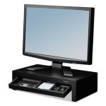 fellowes-adjustable-monitor-riser-with-storage-tray-blk-fel8038101