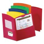 Oxford Two-Pocket Reycled Paper Folders, Assorted Colors, 25/Box (OXF5062500)