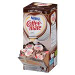 Coffee-mate Liquid Coffee Creamer, Cafe Mocha, 50 Cups (NES35115)