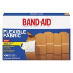 Band-Aid Flexible Fabric Bandages, 100 Bandages (JON 4444)