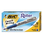 bic-grip-roller-ball-stick-pen-blue-ink-fine-dozen-bicgre11be
