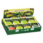 Bigelow Green Tea Assortment, Individually Wrapped, Eight Flavors, 64 Tea Bags/Box (BTC30568)