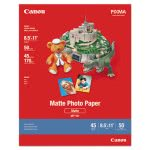 Canon Photo Paper Plus, Matte, 8-1/2 x 11, 50 Sheets/Pack (CNM7981A004)