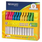 westcott-kids-scissors-w-microban-protection-pack-of-12-5-pointed-acm14872