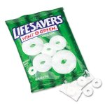 Lifesavers Hard Candy Mints, Wint-O-Green, Individually Wrapped, Each (LFS88504)