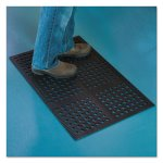 ES Robbins Pro Lite Four-Way Drain Mat, 24 x 36, Black, Each (ESR184714)