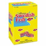 Swedish Fish Grab-and-Go Candy Snacks In Reception Box, 240 Pieces (CDB43146)