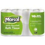 Marcal Standard 2-Ply Toilet Paper Rolls, 96 Rolls (MRC16466)