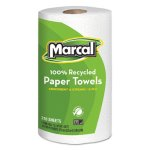Marcal 6210 Kitchen 2-Ply Paper Towel Rolls, 12 Rolls (MRC6210)