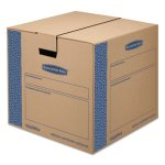 Bankers Box Moving/Storage Box, Medium, Kraft, 8/Carton (FEL0062801)