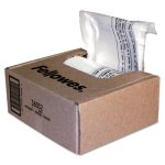 Fellowes Powershred Shredder Bags, 6-7 gal Capacity, 100 Bags & Ties (FEL36052)