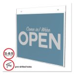 deflect-o-classic-image-single-sided-wall-sign-holder-11-x-8-1-2-def68301