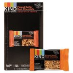 Kind Healthy Grains Bar, Peanut Butter Dark Chocolate, 1.2 oz, 12/Box (KND18083)