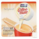 Coffee-mate Liquid Coffee Creamer, Original, 180 Mini Cups (NES753032)
