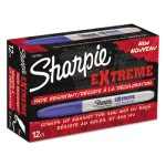sharpie-1927434-extreme-fine-point-marker-blue-12-markers-san1927434