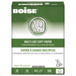 Boise 3-Hole Punch Copy Paper, 92 Bright, 20lb, White, 5000 Sheets (CASOX9001P)