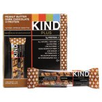 Kind Plus Nutrition Bar, Peanut Butter/Dark Chocolate, 1.4 oz, 12/Box (KND17256)