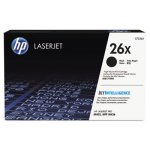 HP 26X, (CF226X) High-Yield Black Original LaserJet Toner Cartridge (HEWCF226X)