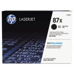 HP 87X, (CF287X) High Yield Black Original LaserJet Toner Cartridge (HEWCF287X)