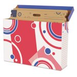 Trend File 'n Save Bulletin Board Storage Box, Bright Stars (TEPT1020)