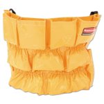 Rubbermaid 2642 Brute Trash Can Caddy Bag, Yellow (RCP 2642 YEL)