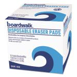 Boardwalk Disposable Eraser Pads, Scrub Sponge,10 Pads (BWK600BX)