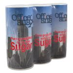 Office Snax Reclosable Canisters of Sugar, 20-oz, 3 Pack (OFX00019G)