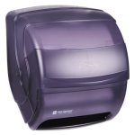San Jamar Integra Lever Roll Towel Dispenser, Black (SJMT850TBK)