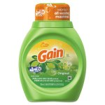 Gain 2X Liquid Laundry Detergent, Original, 6 Bottles (PGC 12783CT)