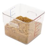 rubbermaid-6306-space-saving-square-container-6-quarts-clear-rcp-6306-cle