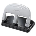 paperpro-40-sheet-traditional-3-hole-punch-rubber-base-blk-silver-aci2240